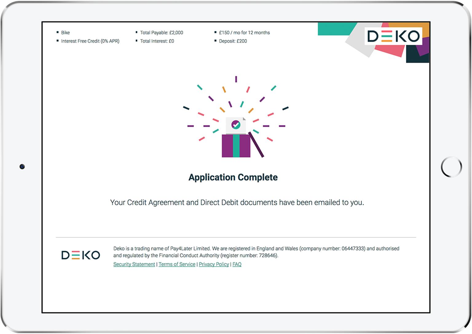 Deko The Smart Choice For Consumer Finance